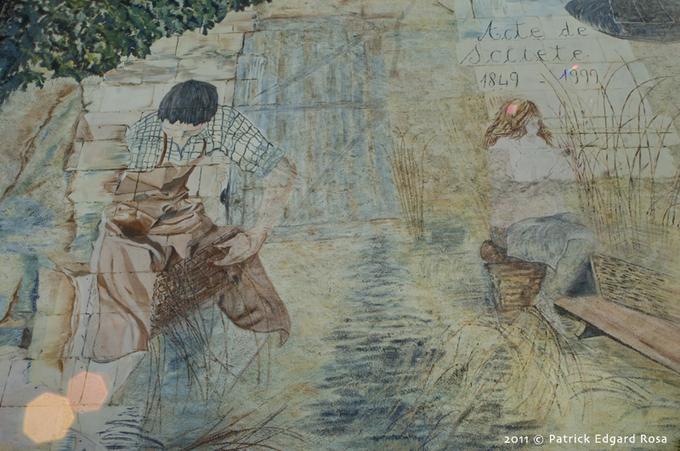 Baskets, osier, basketmakers in Villaines-les-Rochers (37)