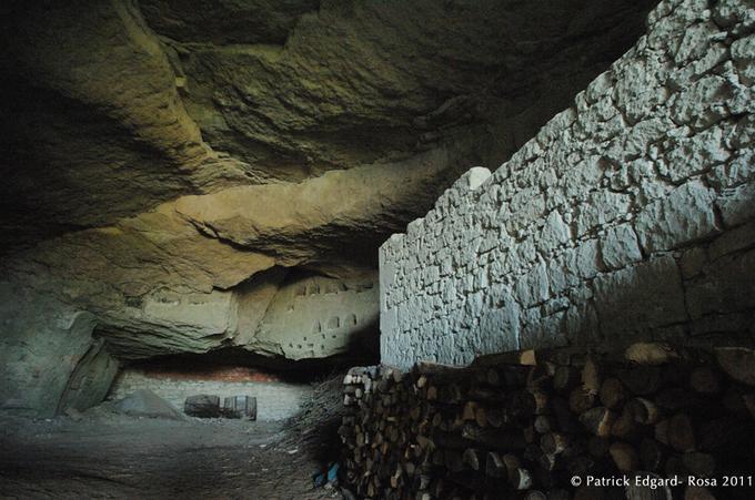 Une ancienne carrière d'extraction dans le Saumurois