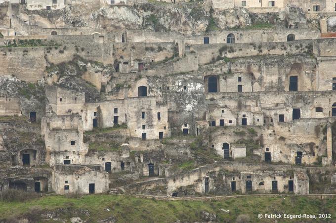 Les « bas-fonds » de Matera (1)