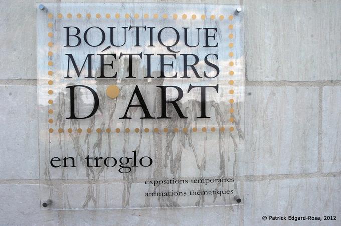 La boutique « Métiers d'Art », Turquant.