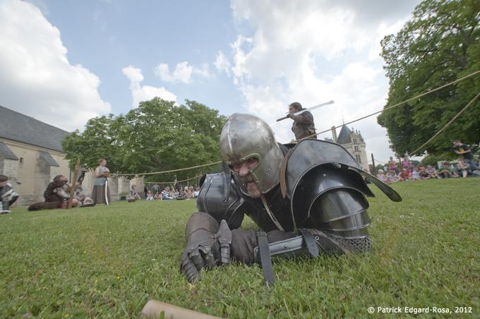 Journée médiévale à Brézé