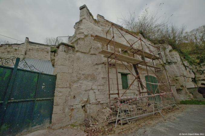 """La maison attenante à l'échoppe """"rhum"""" toutes deux propriétés d'Eric Joséphine est en cours de restauration"""