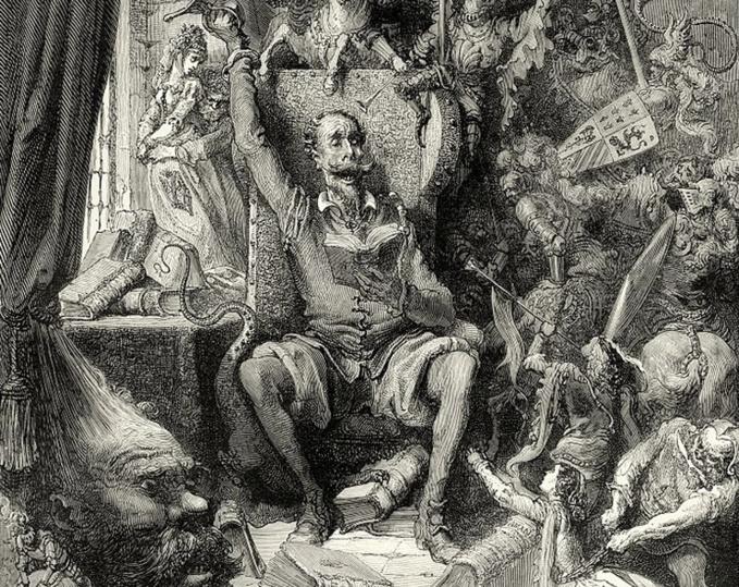 Cervantes, les aventures de Don Quichotte spéléo (1)