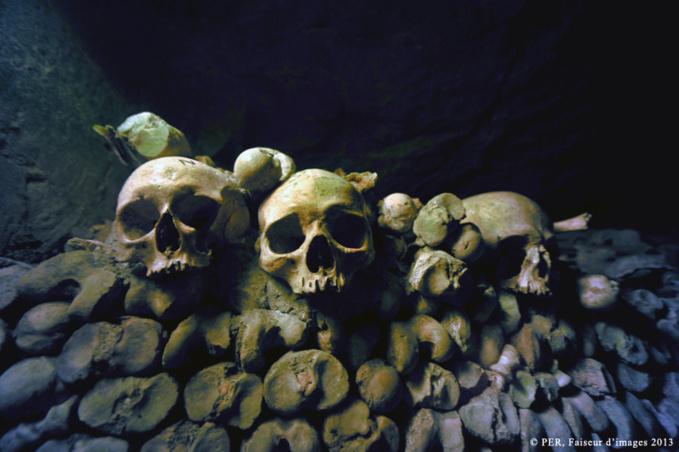 Paris sous terre, les Catacombes (1)