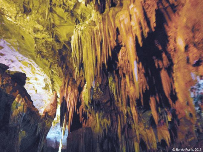 Les grottes de Beixi, rivière souterraine dans l'Empire du Milieu