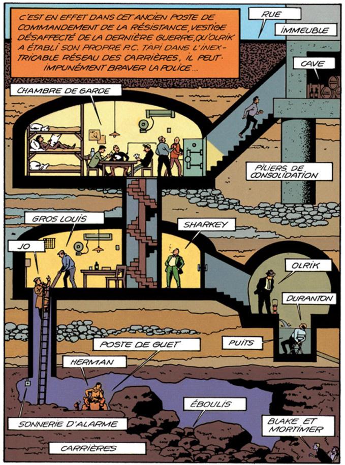 Black&Mortimer, le monde souterrain