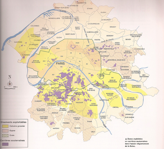 """Les """"couches"""" parisiennes"""