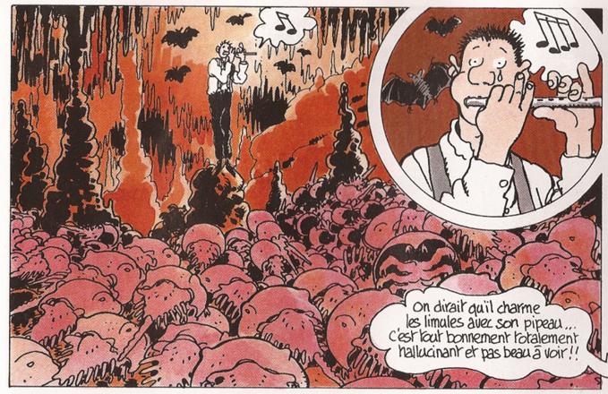 Adèle Blanc-Sec et le monde souterrain