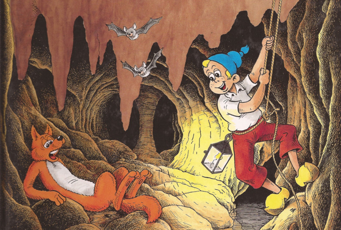 La grotte de Patatrac, ou les aventures de Sylvain et Sylvette