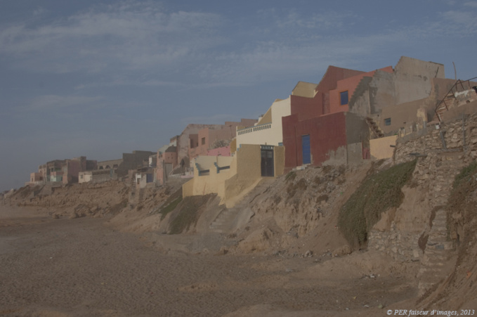 Cabanes troglos 1, histoires de pêcheurs, Maroc