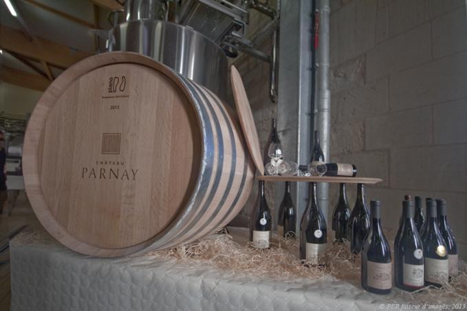 En direct du Château de Parnay