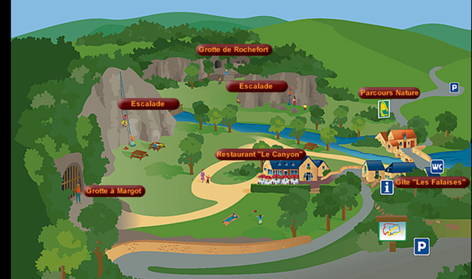 Grottes pariétales en Pays de Loire