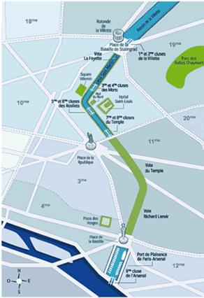 Paris souterrain : les voûtes du Canal St Martin