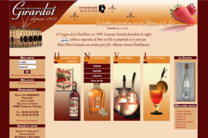 Distillerie Girardot Fraise Or