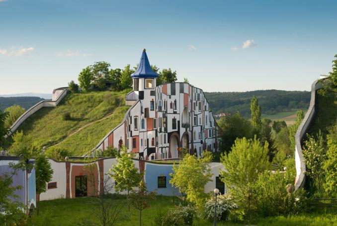 architecture insolite les thermes de blumau