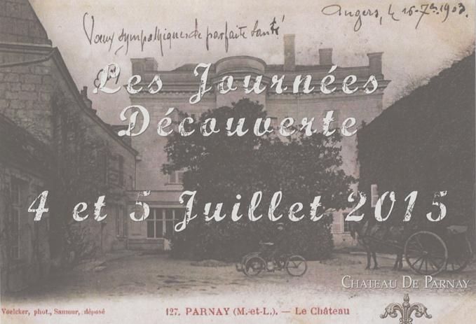 Château de Parnay, news