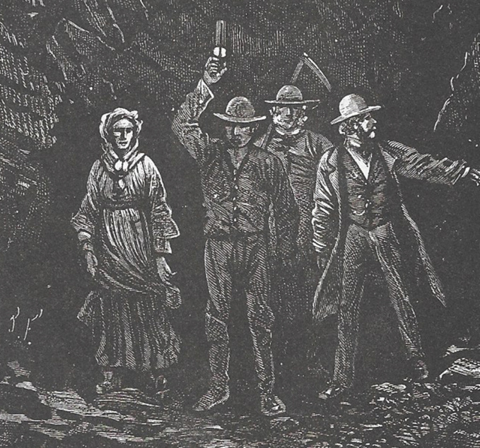 De la littérature souterraine : Les Indes noires, Jules Verne  (1/2)