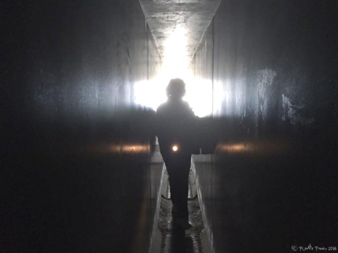 Naoshima  : Sugimoto Hiroshi, Kamis, et escalier de verre