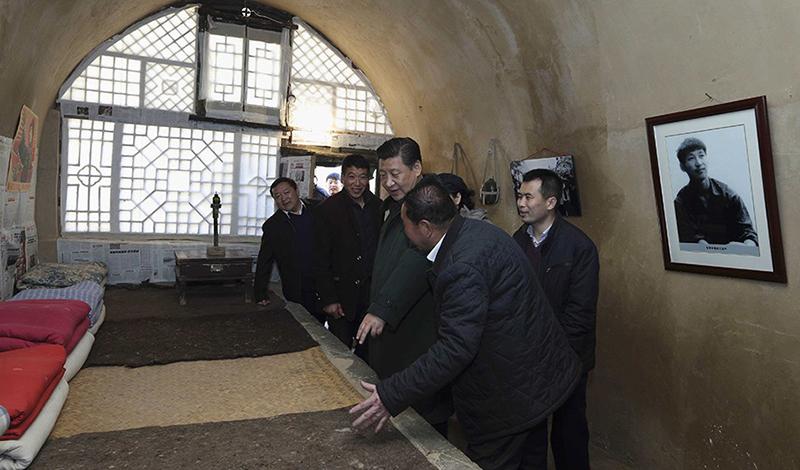 Xi Jinping et les troglos