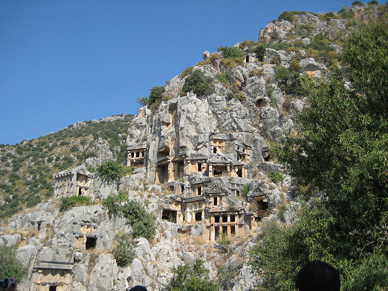 Grottes de Noël en Turquie