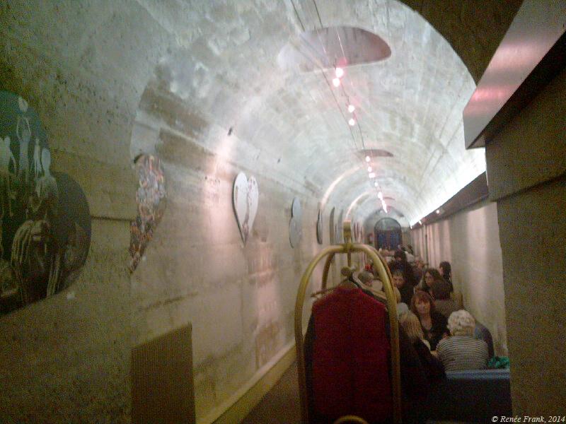 Paris souterrain : le resto de la Madeleine