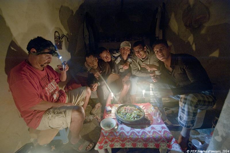 Troglo bougie au Maroc