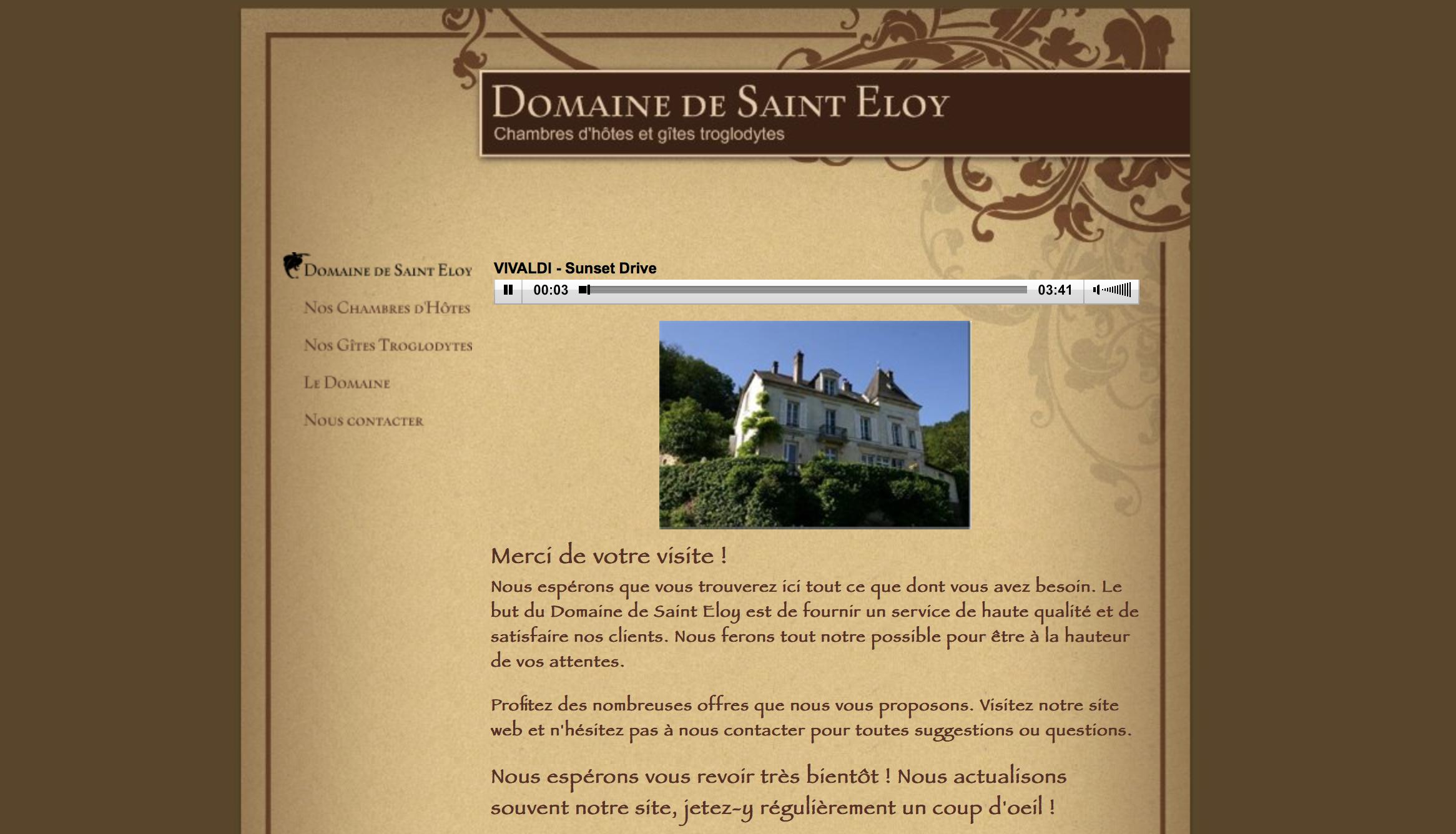 Domaine de Saint Eloy