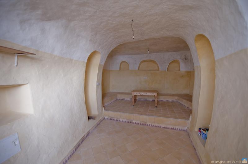 "Réhabilitation ""troglo"", Maroc"