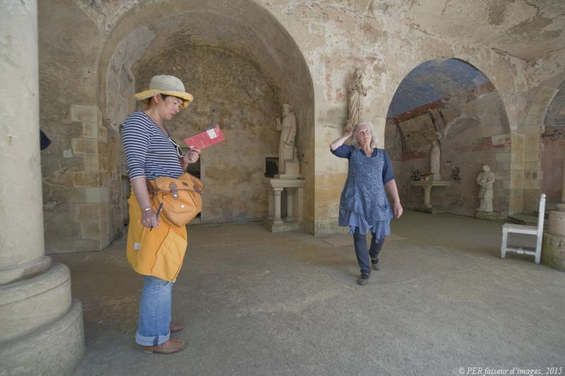 Ste Radegonde, chapelle rupestre de Chinon