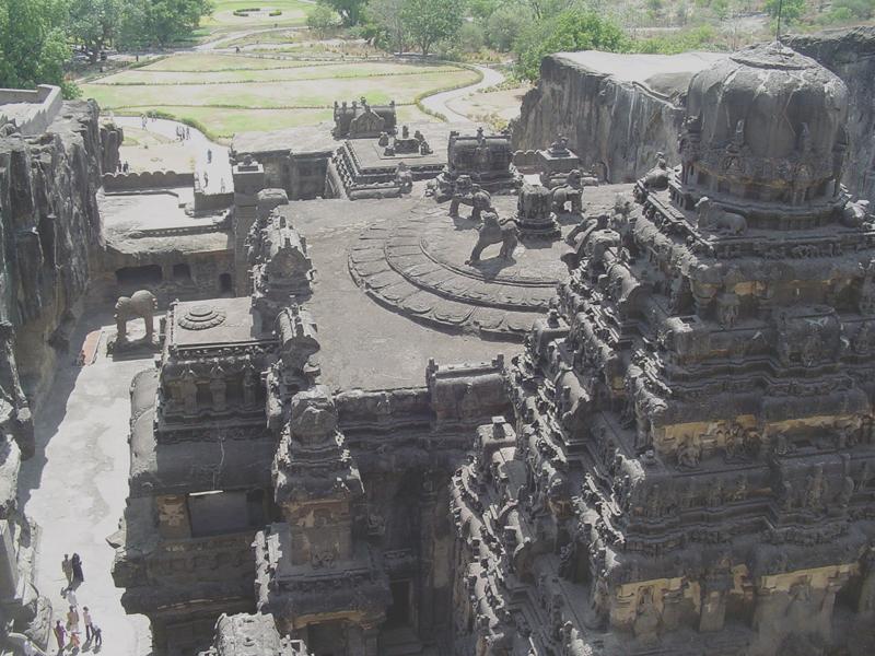 Ellora, site monolithe indien