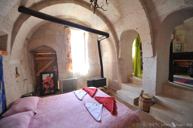 Chambres d'hôte en Cappadoce : la maison de Nergis à Akkoï (2/3)