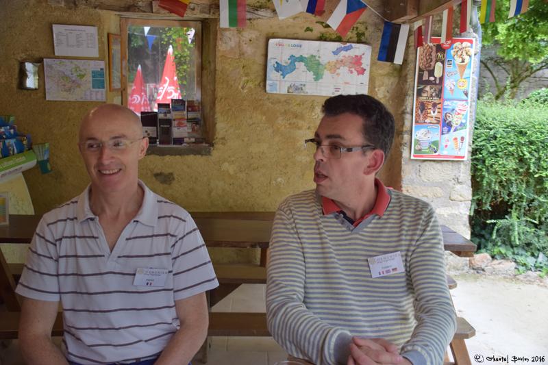 Frédéric Marteau et Patrick Plou