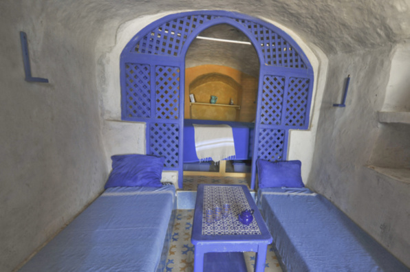 intérieur du Bato Troglo