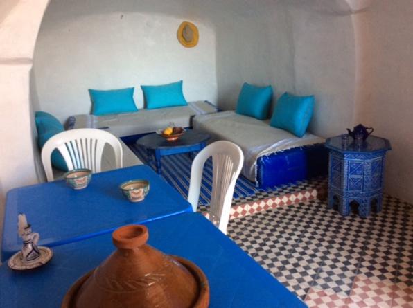 Le salon marocain