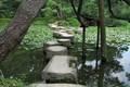 Un jardin japonais réalisé par le japonais Ogawa JIHEI