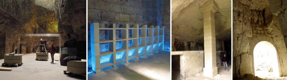 Tailleur de pierre entre Saumur et Chinon, à Saint Germain sur Vienne