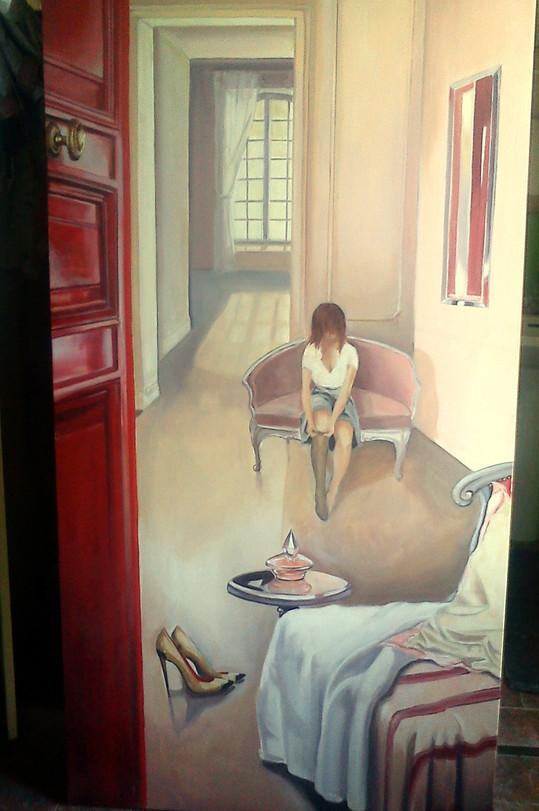 toile peinte