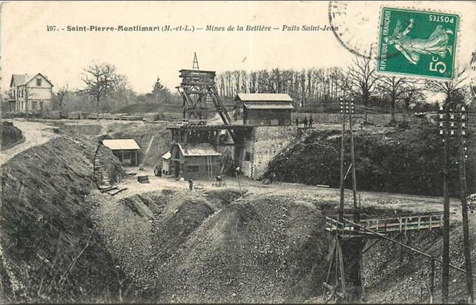 Nuée vers l'or en Anjou