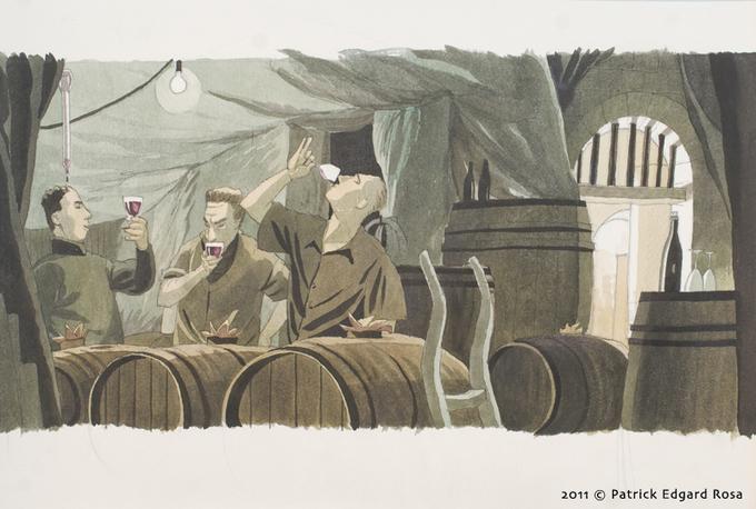 Nicolas Jolivot : les caves viticoles en Saumurois