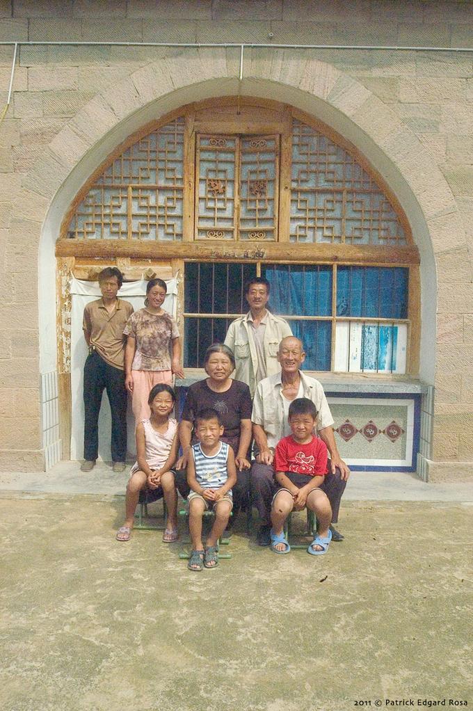 portrait de groupe à Fuyihe