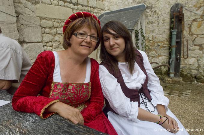 Véronique Quesson et sa fille ont élégamment joué le jeu