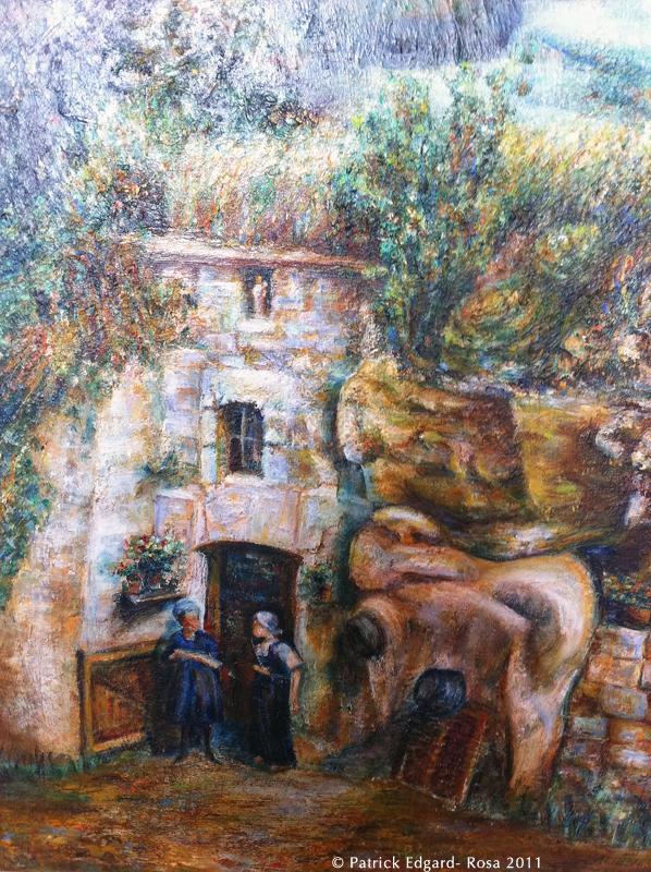 Une peintre japonaise à Saint-Georges-des-Sept-Voies