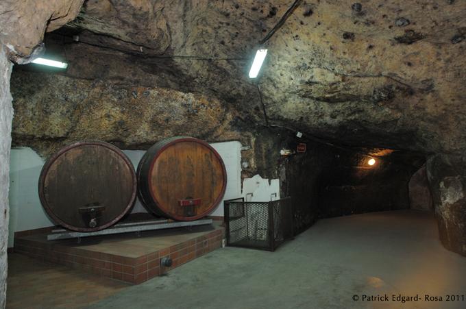 Saumur, de cave en cave : Langlois-Chateau
