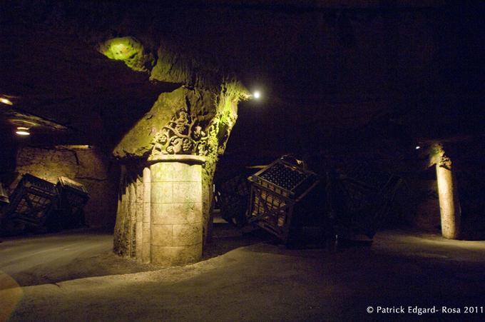 Les caves de Bouvet Ladubay