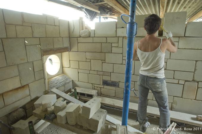 Laure a pris une année de congé pour restaurer ce foyer de vie