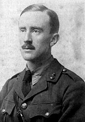 Portrait  de Tolkien (wikipédia)