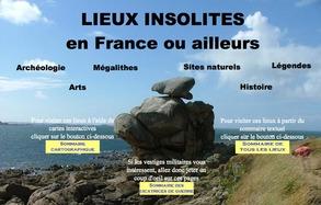 la page d'accueil du site www.lieux-insolites.fr