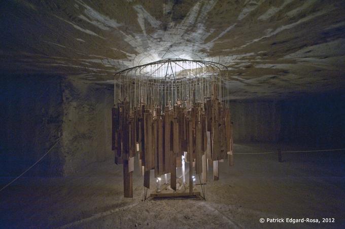 Une des sculptures sonores de Will Menter