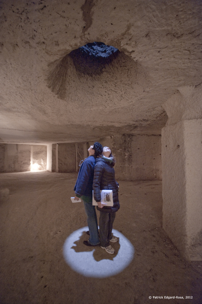 30 mètres sous terre