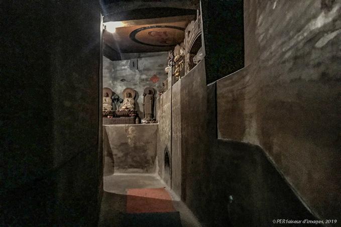Le Temple souterrain de Tamagawa Daishi